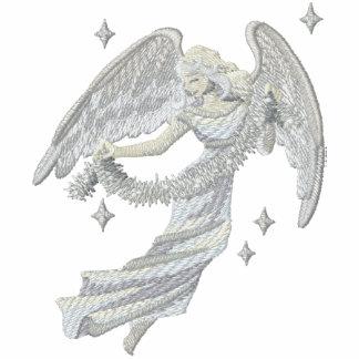 Ángel de plata del navidad