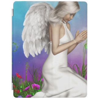 Ángel de rogación cubierta de iPad