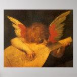 Ángel de Rosso Fiorentino, arte del músico del Póster