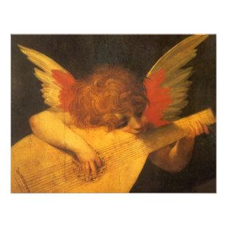 Ángel de Rosso Fiorentino arte del músico del vin Anuncio