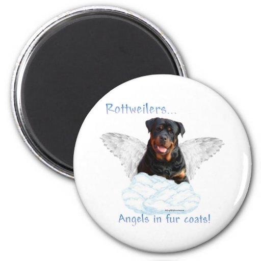 Ángel de Rottweiler - imán