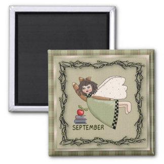 Ángel de septiembre/imán de hadas del mes