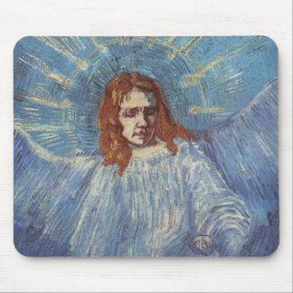 Ángel de Vincent van Gogh Alfombrillas De Ratón