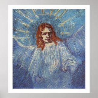 Ángel de Vincent van Gogh Póster