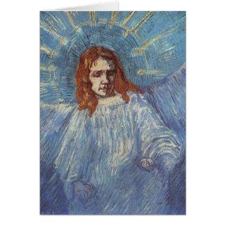 Ángel de Vincent van Gogh Tarjeta De Felicitación