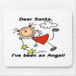 Angel Dear Santa Mouse Pads