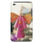 Angel Decoration Hanging from a Christmas Tree Barely There iPod Cover