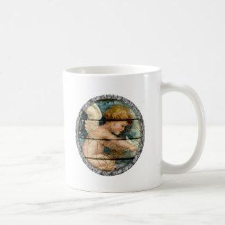 ángel del amor del vintage tazas de café