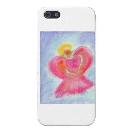 Ángel del amor iPhone 5 carcasa