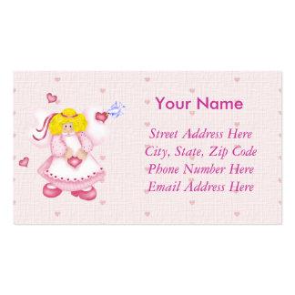 Ángel del amor tarjetas de visita