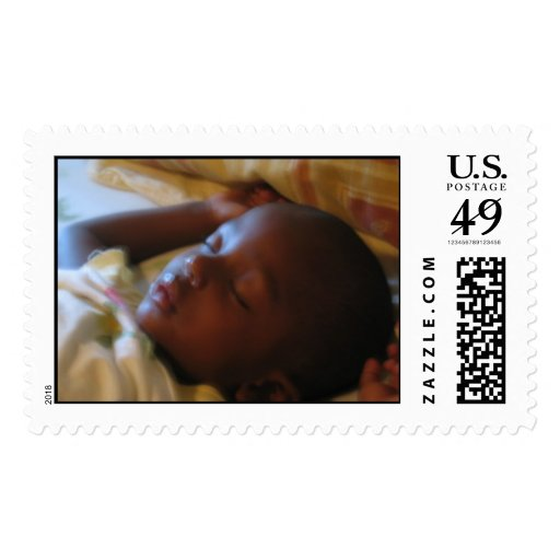 Ángel del bebé sellos