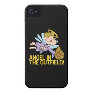 Ángel del campo abierto iPhone 4 fundas