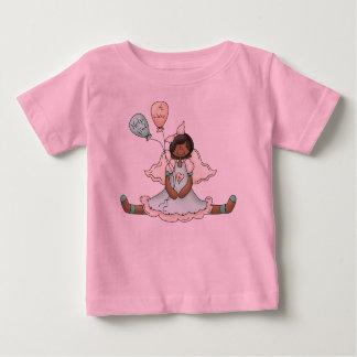 Ángel del cáncer de pecho (2) playera de bebé