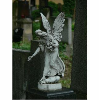Ángel del cementerio esculturas fotograficas