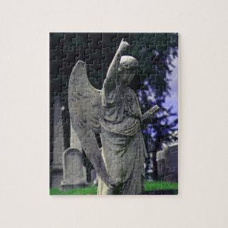 Ángel del cementerio puzzle