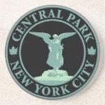 Ángel del Central Park Posavasos De Arenisca