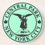 Ángel del Central Park Posavasos Diseño
