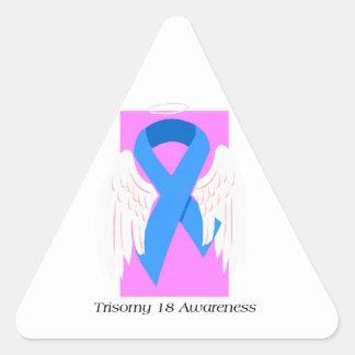 Ángel del chica del Trisomy 18 Colcomanias Triangulo