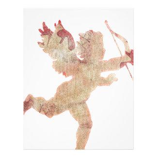 Ángel del Cupid Membrete