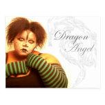 Ángel del dragón de BBW Postal