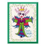 Ángel del duende de Sistah del alma Tarjetas Postales