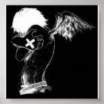 ángel del emo poster