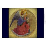 Ángel del Fra Angelico del anuncio Felicitacion