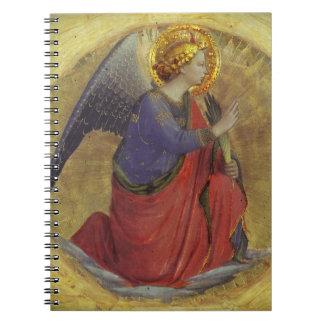 Ángel del Fra Angelico del anuncio Note Book