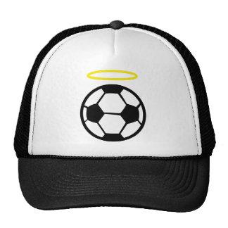 ángel del fútbol gorro