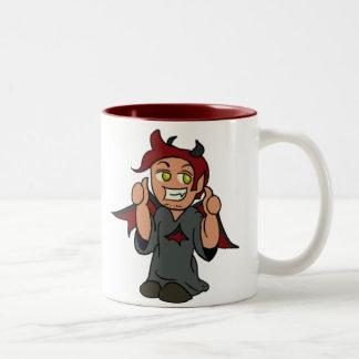 Ángel del hombro/taza del diablo