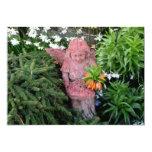 Ángel del jardín invitación 12,7 x 17,8 cm