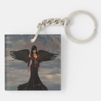 Ángel del llavero de la oscuridad