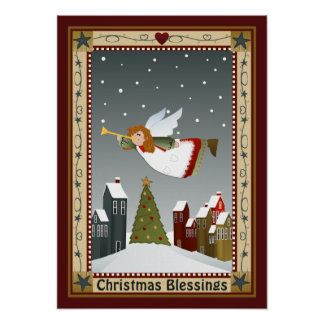 Ángel del navidad (2) poster