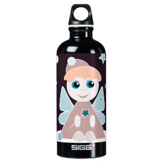 Ángel del navidad botella de agua