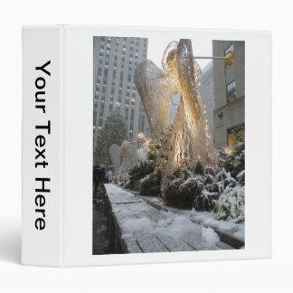 Ángel del navidad de NYC
