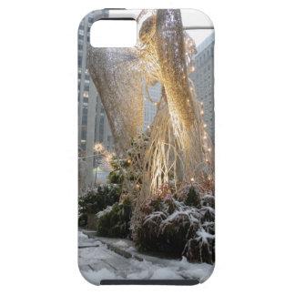 Ángel del navidad de NYC Funda Para iPhone 5 Tough