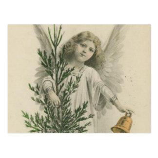 Ángel del navidad del vintage tarjetas postales