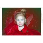 Ángel del navidad felicitacion
