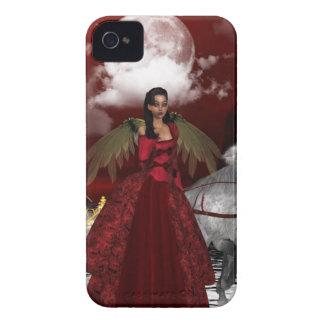 Ángel del navidad Case-Mate iPhone 4 carcasas