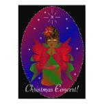 Ángel del navidad invitación 12,7 x 17,8 cm