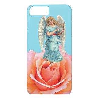 ÁNGEL DEL NAVIDAD IPHONE7 EN SPECIAL COLOR DE ROSA FUNDA iPhone 7 PLUS