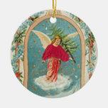 Ángel del navidad ornamento para arbol de navidad
