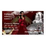 Ángel del navidad plantillas de tarjetas de visita