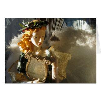 Ángel del navidad tarjeta de felicitación