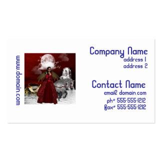 Ángel del navidad tarjeta de visita