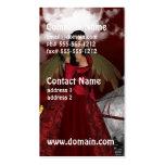 Ángel del navidad tarjetas de negocios