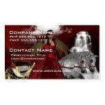 Ángel del navidad tarjetas de visita