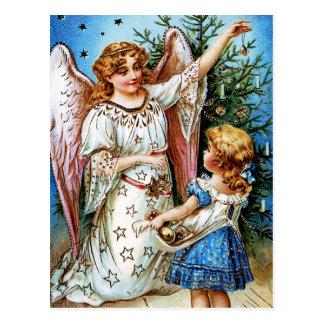 Ángel del navidad tarjetas postales