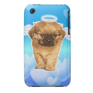 Ángel del perrito Case-Mate iPhone 3 cárcasas