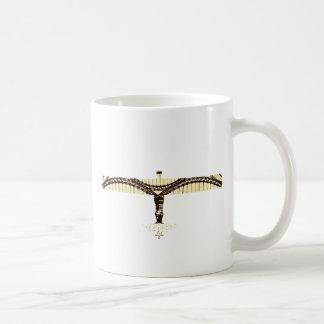 ángel del puente de tyne taza